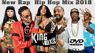 FALL 2018 Hip Hop & RnB Hottest Music Videos Quavo Travis Scott DRAKE 4 DVDs-HD!