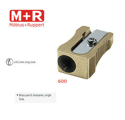 Mobius and Ruppert (M+R) 0600 - WEDGE CONE SHAPED BRASS Pencil sharpener