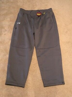 91a71757477b Under Armour Mens ColdGear Infrared Loose Gray Pants 1259082-040 2XL XXL  NWT  80