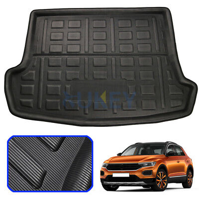 Tailored Upper Boot Liner Tray Trunk Floor Cargo Mat For VW T-Roc 2017 2018