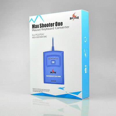MayFlash Max Shooter ONE Mouse/Keyboard Converter for PS3/PS4/XBox 360/XBox One