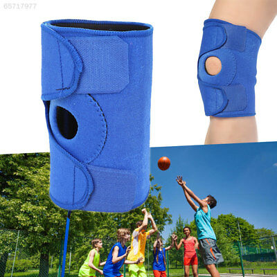 0342 Blue/Black Elbow Guard Compression Gym Wraparound Elbow Brace Support