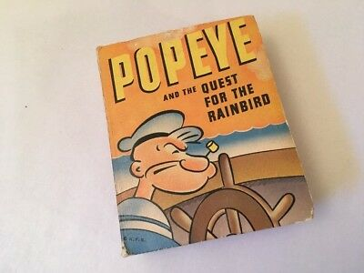 Vintage The Big Little Book POPEYE and the Quest for the Rainbird No 1459