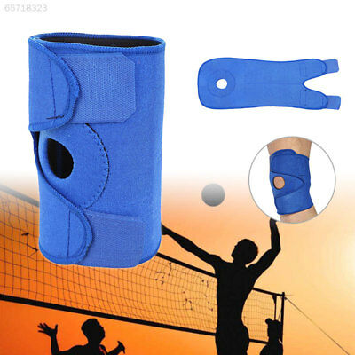 DF76 Blue/Black Compression Wraparound Fitness Tennis Elbow Brace Support