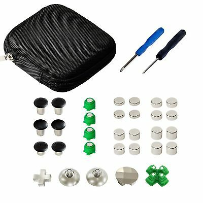 Thumbstick D-Pad button Kit for Sony PS4 Slim Pro Dualshock 4 Controller