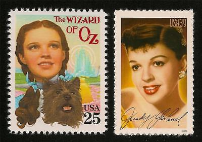 The Wizard of Oz Dorothy Toto Judy Garland Movie Film Commemorative Stamps MINT!
