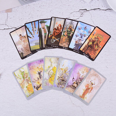 Mystic tarot deck 78 cards - read your fate, dreams, future Gut in DE Neu