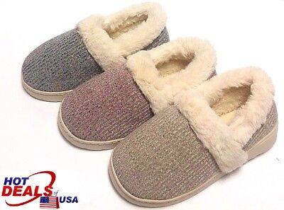Woman Winter Warm Sandal House Indoor Cotton Slippers Home Close End Shoes Soft