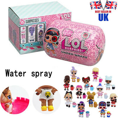 LOL 15 Surprise Doll Under Wraps Tots L.O.L. Dolls Series Eye Spy - IN HAND gift