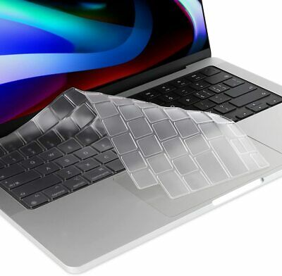 "Clear Silicone Keyboard Cover For Apple Macbook Pro Air Mac Retina 13"" 15"" 17"""