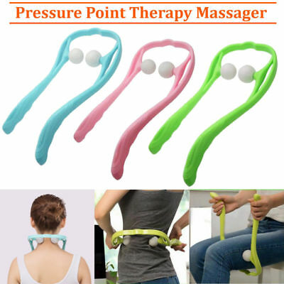 PRESSURE POINT THERAPY Massager Pain Relief Face Body SPA Massage Roller  Relax
