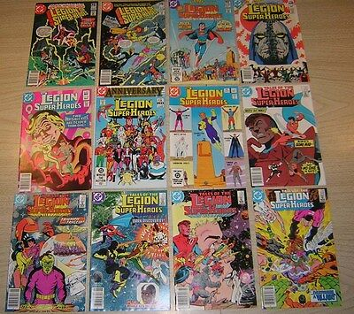 Legion of Super-Heroes/Tales of the: 276-328 ~ 12 books ~ Lot C14-218E