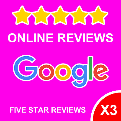 3 X 5* Google Review - Business Website - GOOGLE   TRAFFIC   SEO   SEARCH   UK