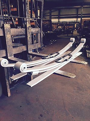 Mercedes Sprinter 2+1 Very Heavy Duty Leaf Springs For New Shape W907 2018 On