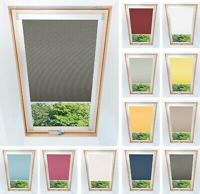 Blackout Thermal Skylight Roller Blinds For All Velux Roof Windows Easy Fit