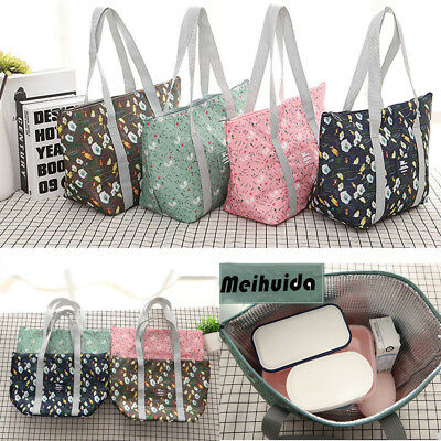 AU Childrens Lunch Bags Insulated Cool Bag Picnic Bag School Lunchbox Tote Pouch