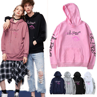 Lil Peep Teenager Adult Hoodie Unisex Sweatshirts Jumper Sweater hody tops UK