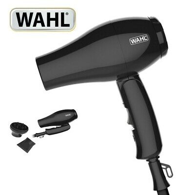 WAHL ZX982 Folding Handle Compact Travel Hair Dryer 1000W Multi Voltage NEW