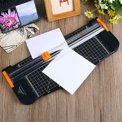 Duty A4 To B7 Paper Photo Cutter Card Guillotine Trimmer Ruler Home Office Art