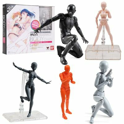 Luxury S.H. Figuarts Body Kun Chan Dx Sets Gray Color Ver PVC Action Figure Toys