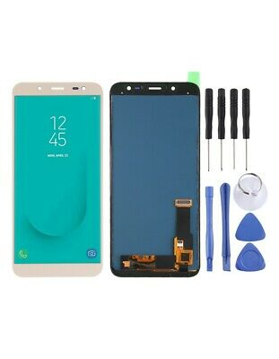 DISPLAY LCD SCHERMO TOUCH SCREEN Samsung Galaxy J6 (2018) (TFT Material ) ORO