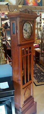 Antique grandmother clock , art deco circa 1920s, Westminster chimes,
