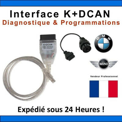 BMW INPA/Ediabas K+CAN K+DCAN USB Interface Diagnostic Cable Tool SSS New F2