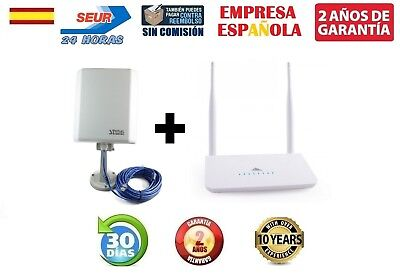 Pack Adaptador Wifi Signal King Sk-10Tn+ Y Melon R658 Kit Wifi Recibe/comparte