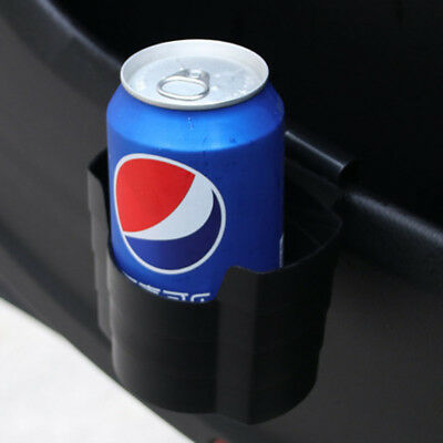 Plastic Clip On Cup Holder For Car Van Air Vent Holds Water Bottle Can Drink.
