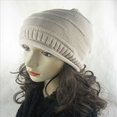 Autumn and winter pile hats men and women tide knit hat universal wool cap