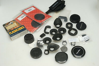 Camera Store Wholesale LOT Rubber Eyecup Viewfinder Eyepiece Caps Flashcubes