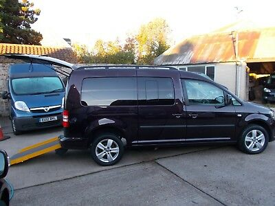 Wheelchair Accessible Wav Disabled Mobility 2013 Volkswagon Caddy Maxi Automatic