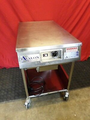 Avalon AFG26T-H Heated Stainless Steel Donut Icing Glazing Table #776