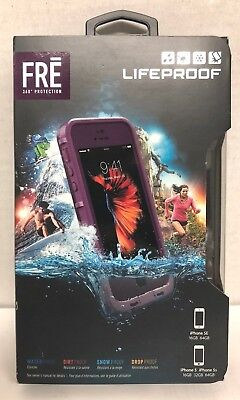 LifeProof FRE SERIES Waterproof Case for iPhone 5/5s/SE CRUSHED PURPLE