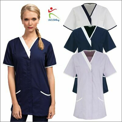 Premier Ladies Daisy Healthcare Nurses Tunic Medical Laboratory Workwear Uniform
