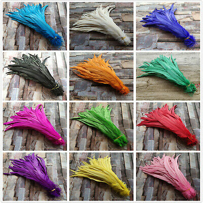 Wholesale 10/50/100 PCS Beautiful Natural Rooster Feathers 25-40cm/10-16 inches