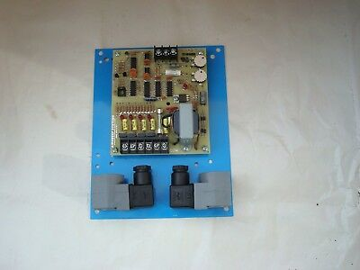 Myrlen Airsweep sequence timer CBO-4 110v A/C with two solenoids.