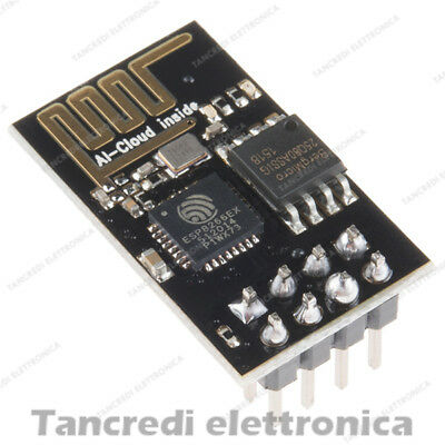 MODULO WIRELESS ESP-01 chip ESP8266 SERIALE Serial WIFI Module ARDUINO
