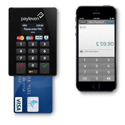 Payleven Chip And Pin Device with bluetooth connectivity (Apple Only)