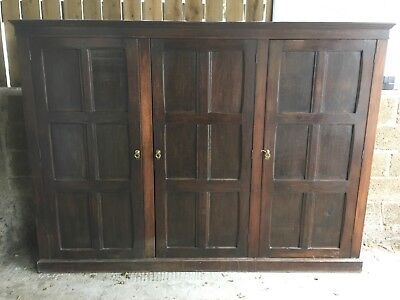 Stunning  Oak Antique House Keepers Cupboard
