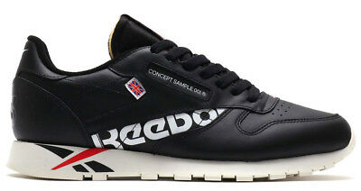 e12b4d821297b New Reebok Classic Special Edition Leather Mens sneaker black all sizes