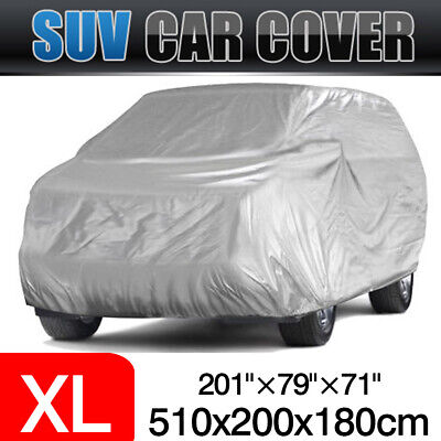 SUV Full Car Cover Waterproof Sun UV Snow Dust Rain Resistant Protection XL Size