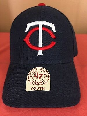 e23a21265f59d Minnesota Twins Baseball Cap Hat 47 Brand Youth MLB With Tags NEW Sports