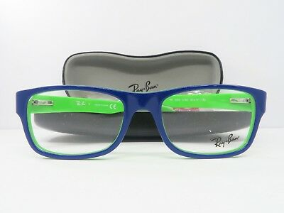 92a4631417 RAY-BAN BLUE GREEN GLASSES New with Case RB 5268 5182 50mm -  55.35 ...