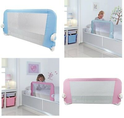 Baby Children Safety Bed Cot Rail Bedrail Fold Guard Portable Adjustable Lindam