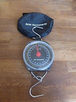 Ron Thompson 50Kg Heavy Duty Carp Coarse Fishing Scales With Case