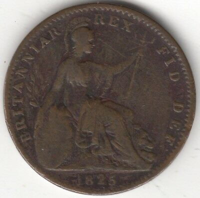 1825 George IV Farthing | British Coins | Pennies2Pounds