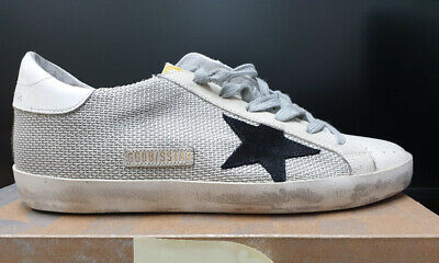 5e9d68a2c Golden Goose Women's Superstar Grey Cord Gum Sneakers GCOWS590 P9 Worldwide