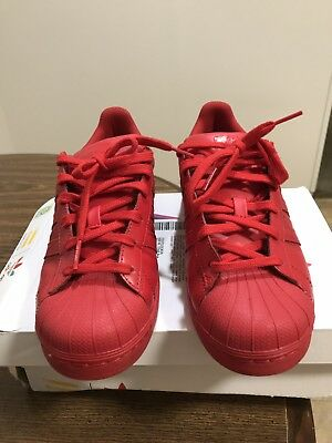 half off 334c7 69b04 ADIDAS SUPERSTAR SUPERCOLOR Pack Pharrell Williams Red Size 6 Men