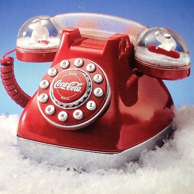 Coca Cola Dome Collectible*push Button Telephone* Nib